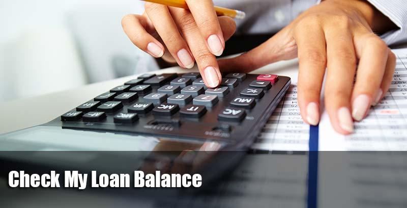 Check My Loan Balance