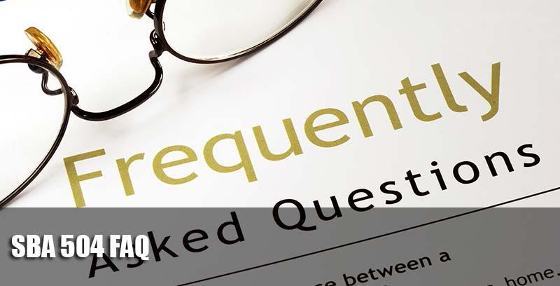 SBA 504 FAQ