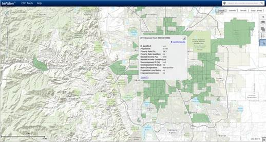 CDFI Fund CIMS Mapping Tool
